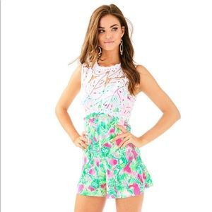 NEW Lilly Pulitzer Romper size 6